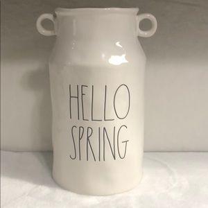 Rae Dunn HELLO SPRING large vase